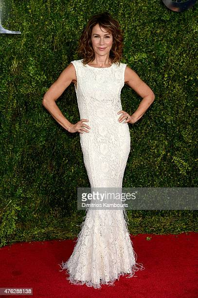 Actress Jennifer Grey attends the 2015 Tony Awards at Radio City Music Hall on June 7 2015 in New York City