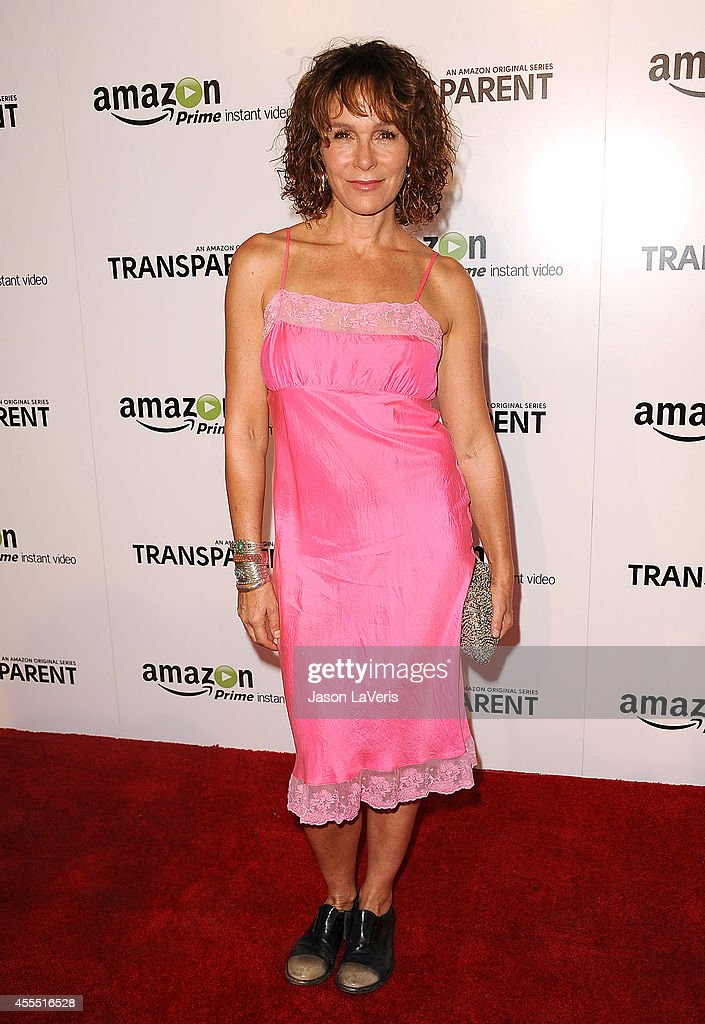 Actress Jennifer Grey attends the premiere of 'Transparent' at Ace Hotel on September 15, 2014 in Los Angeles, California.