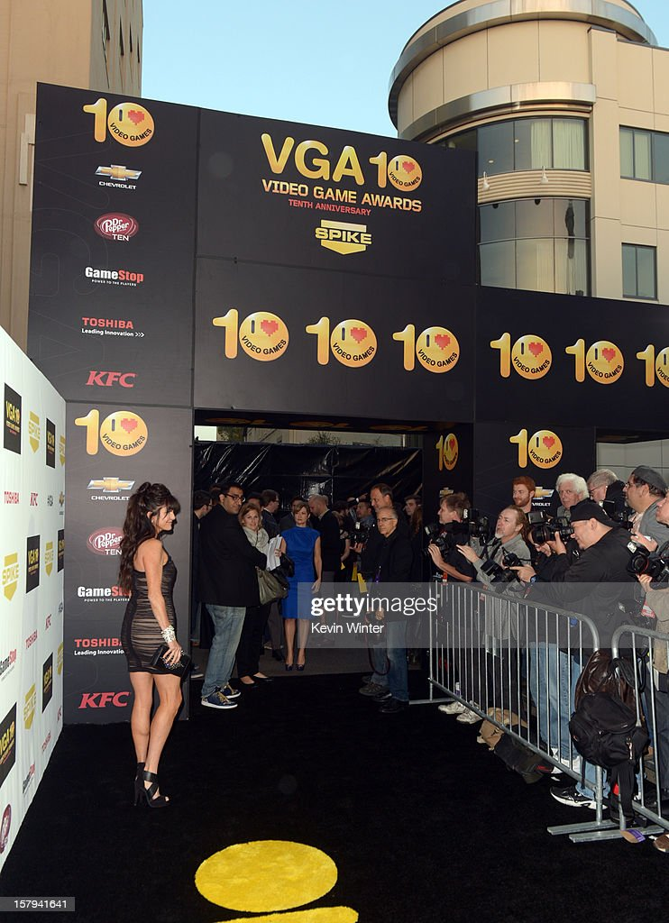 Actress Jennifer Hale arrives at Spike TV's 10th annual Video Game Awards at Sony Pictures Studios on December 7, 2012 in Culver City, California.