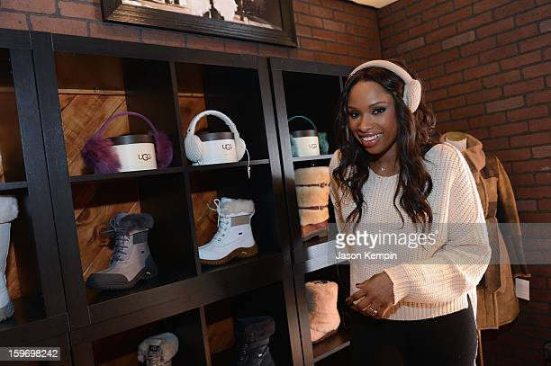 Actress Jennifer Hudson attends Day 1 of UGG at Village At The Lift 2013 on January 18 2013 in Park City Utah
