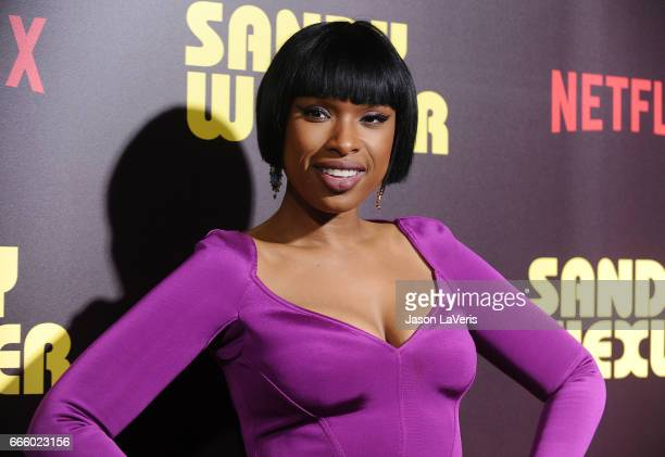 Actress Jennifer Hudson attends the premiere of 'Sandy Wexler' at ArcLight Cinemas Cinerama Dome on April 6 2017 in Hollywood California