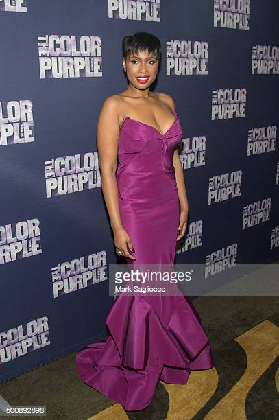 Actress Jennifer Hudson attends the 'The Color Purple' Broadway Opening Night After Party at Copacabana on December 10 2015 in New York City