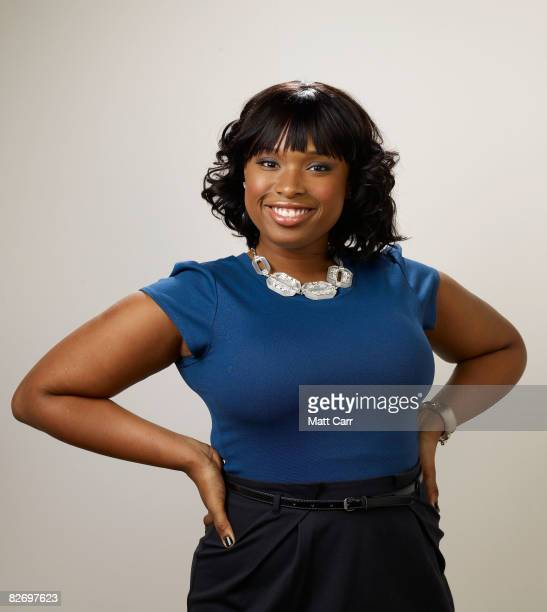 Actress Jennifer Hudson from the film 'The Secret Life Of Bees' poses for a portrait during the 2008 Toronto International Film Festival at The...