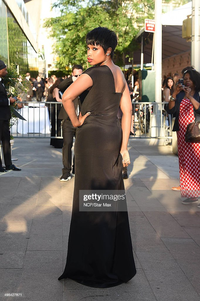 Actress Jennifer Hudson is seen on June 2, 2014 arriving at The 2014 CFDA Fashion Awards in New York City.