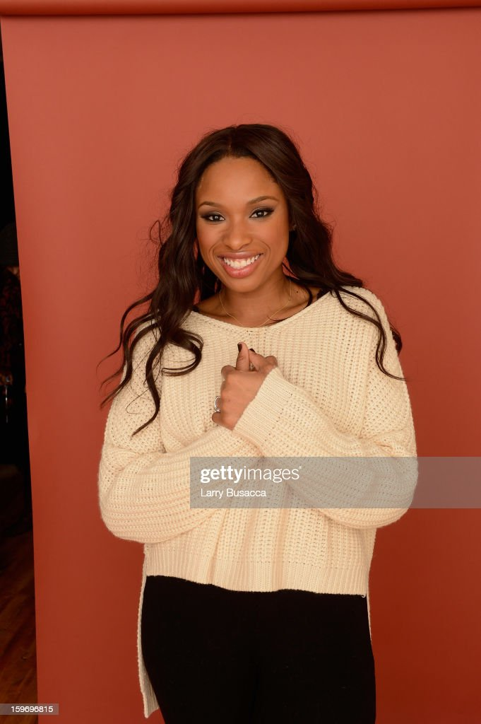 Actress Jennifer Hudson poses for a portrait during the 2013 Sundance Film Festival at the Getty Images Portrait Studio at Village at the Lift on January 18, 2013 in Park City, Utah.