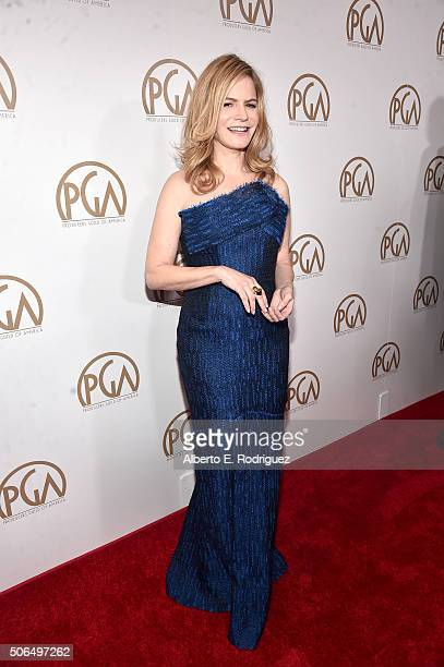 Actress Jennifer Jason Leigh attends 27th Annual Producers Guild Of America Awards at the Hyatt Regency Century Plaza on January 23 2016 in Century...