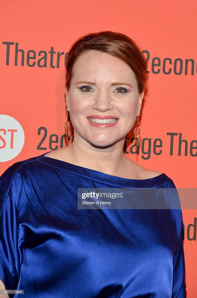 Actress Jennifer Laura Thompson attends 'Dear Evan Hansen' opening night after party at John's Pizzeria on May 1, 2016 in New York City.
