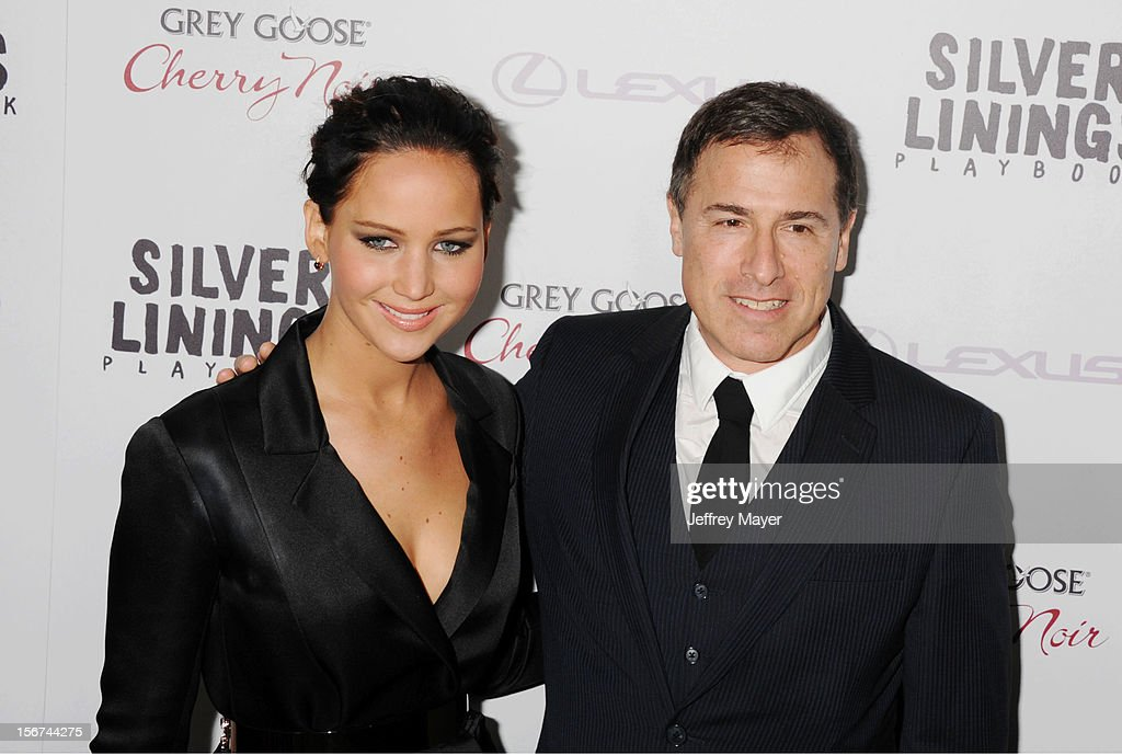 Actress Jennifer Lawrence and Director David O. Russell, arrive at the 'Silver Linings Playbook' - Los Angeles Special Screening at the Academy of Motion Picture Arts and Sciences on November 19, 2012 in Beverly Hills, California.