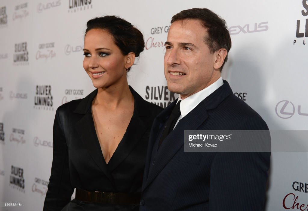 Actress Jennifer Lawrence and director David O. Russell attend a special screening of 'Silver Linings Playbook' presented by The Weinstein Company sponsored by Grey Goose and Lexus at AMPAS Samuel Goldwyn Theater on November 19, 2012 in Beverly Hills, California.