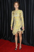 Actress Jennifer Lawrence arrives at the 38th Annual Los Angeles Film Critics Association Awards held at the InterContinental Hotel on January 12...