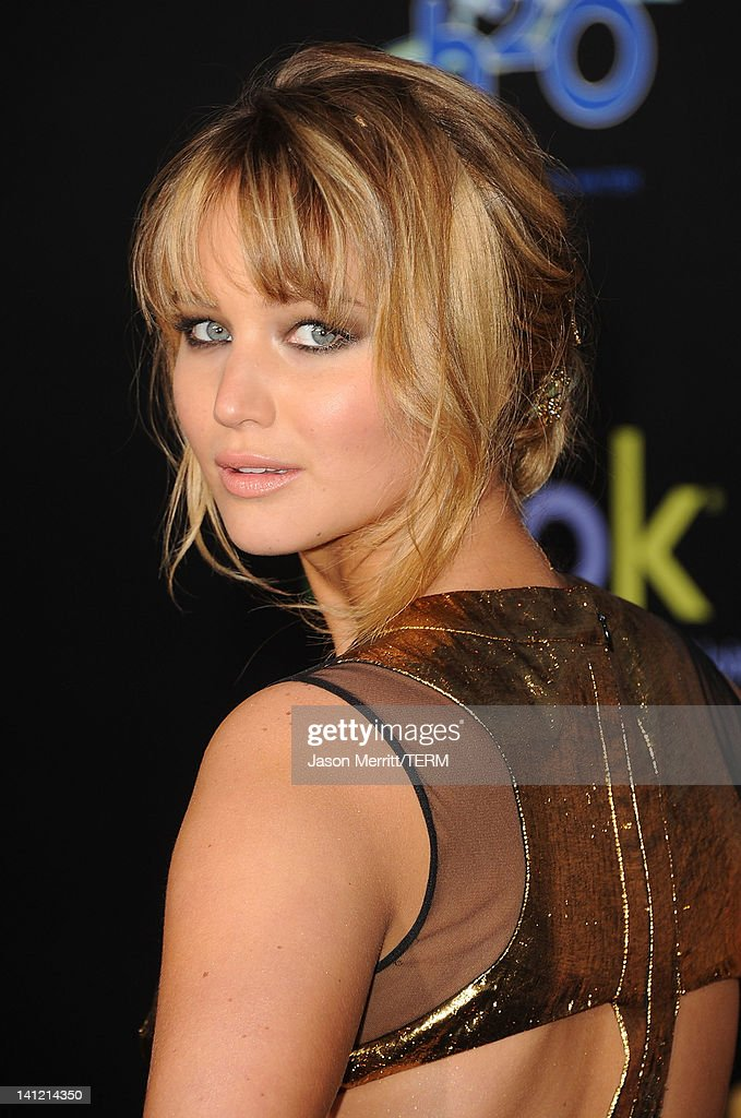 Actress Jennifer Lawrence arrives at the premiere of Lionsgate's 'The Hunger Games' at Nokia Theatre L.A. Live on March 12, 2012 in Los Angeles, California.