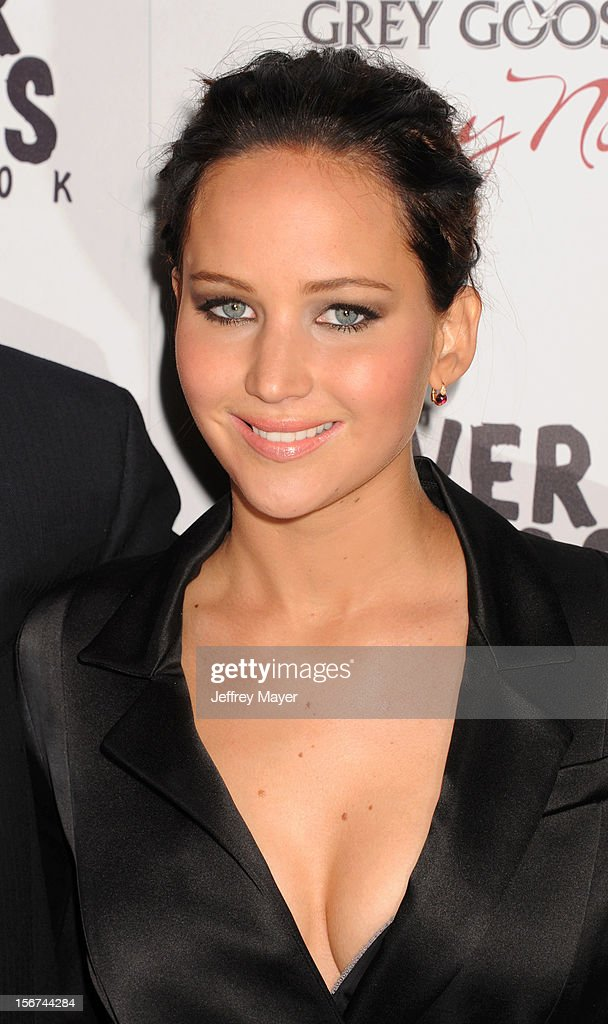 Actress Jennifer Lawrence arrives at the 'Silver Linings Playbook' - Los Angeles Special Screening at the Academy of Motion Picture Arts and Sciences on November 19, 2012 in Beverly Hills, California.
