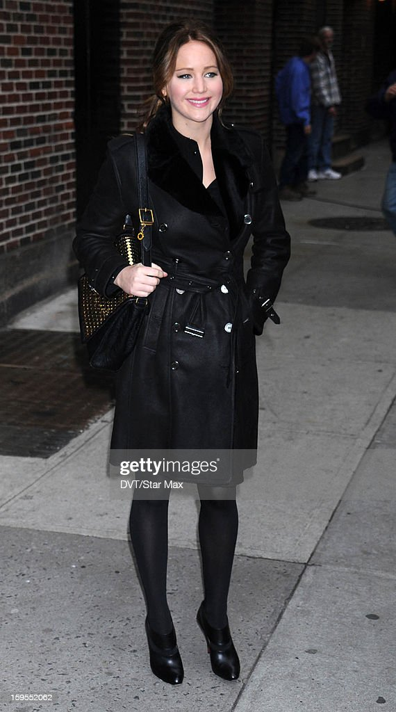 Actress Jennifer Lawrence as seen on November 15, 2012 in New York City.