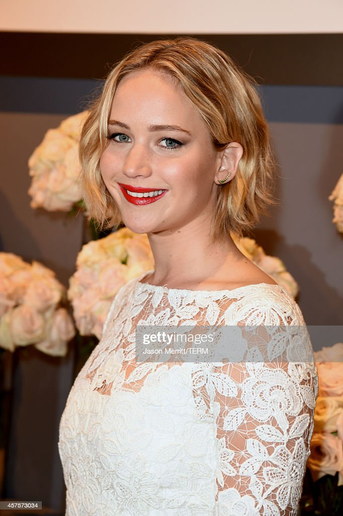 Actress <a gi-track='captionPersonalityLinkClicked' href=/galleries/search?phrase=Jennifer+Lawrence&family=editorial&specificpeople=1596040 ng-click='$event.stopPropagation()'>Jennifer Lawrence</a> attends ELLE's 21st Annual Women in Hollywood Celebration at the Four Seasons Hotel on October 20, 2014 in Beverly Hills, California.