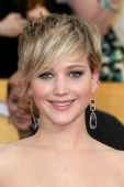 Actress Jennifer Lawrence attends the 20th Annual Screen Actors Guild Awards at The Shrine Auditorium on January 18 2014 in Los Angeles California