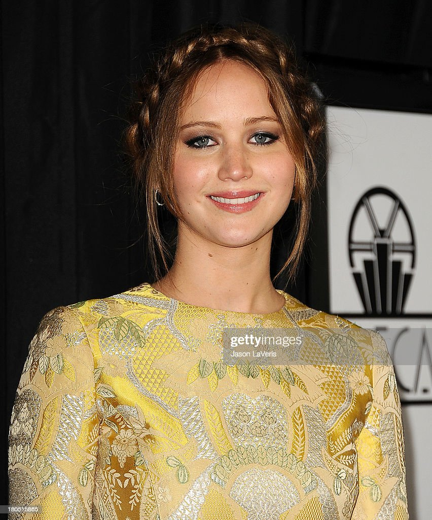 Actress <a gi-track='captionPersonalityLinkClicked' href=/galleries/search?phrase=Jennifer+Lawrence&family=editorial&specificpeople=1596040 ng-click='$event.stopPropagation()'>Jennifer Lawrence</a> attends the 38th annual Los Angeles Film Critics Association Awards at InterContinental Hotel on January 12, 2013 in Century City, California.