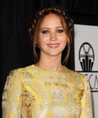 Actress Jennifer Lawrence attends the 38th annual Los Angeles Film Critics Association Awards at InterContinental Hotel on January 12 2013 in Century...