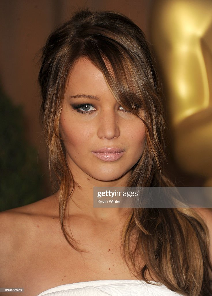 Actress Jennifer Lawrence attends the 85th Academy Awards Nominations Luncheon at The Beverly Hilton Hotel on February 4, 2013 in Beverly Hills, California.