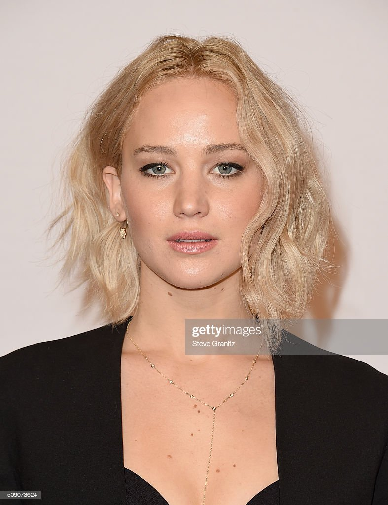 Actress <a gi-track='captionPersonalityLinkClicked' href=/galleries/search?phrase=Jennifer+Lawrence&family=editorial&specificpeople=1596040 ng-click='$event.stopPropagation()'>Jennifer Lawrence</a> attends the 88th Annual Academy Awards nominee luncheon on February 8, 2016 in Beverly Hills, California.