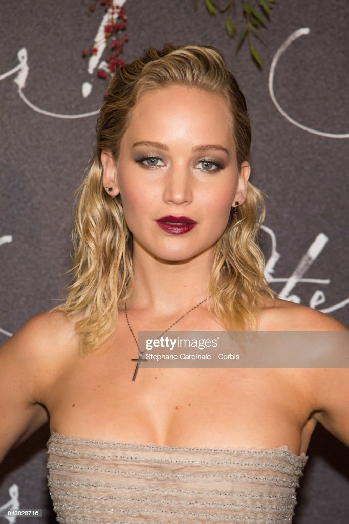 Actress Jennifer Lawrence attends the French Premiere of 'mother!' at Cinema UGC Normandie on September 7, 2017 in Paris, France.