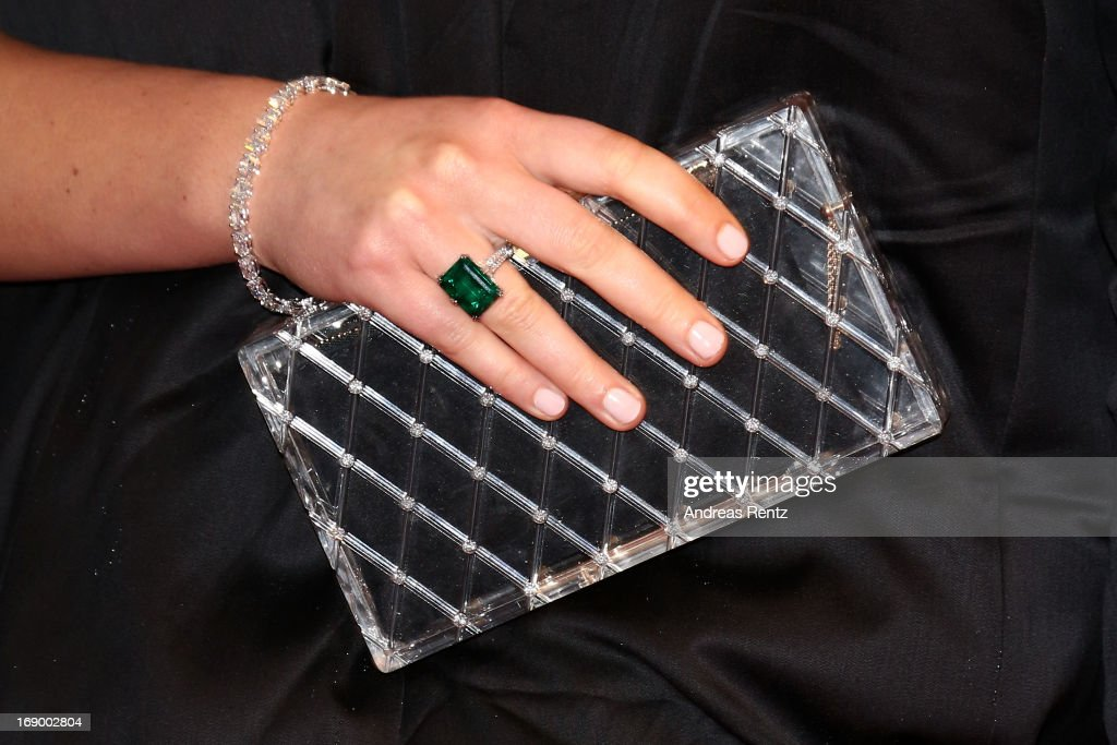 Actress Jennifer Lawrence (bag detail) attends the 'Jimmy P. (Psychotherapy Of A Plains Indian)' Premiere during the 66th Annual Cannes Film Festival at the Palais des Festivals on May 18, 2013 in Cannes, France.