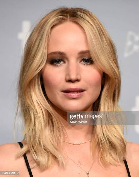 Actress Jennifer Lawrence attends the 'mother' press conference during the 2017 Toronto International Film Festival at TIFF Bell Lightbox on...
