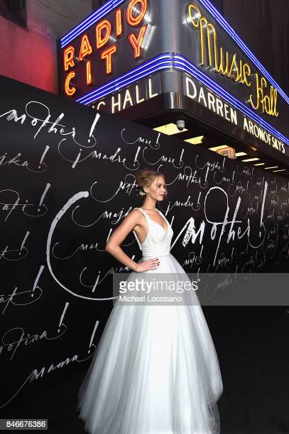 Actress Jennifer Lawrence attends the New York premiere of 'mother' at Radio City Music Hall on September 13 2017 in New York New York