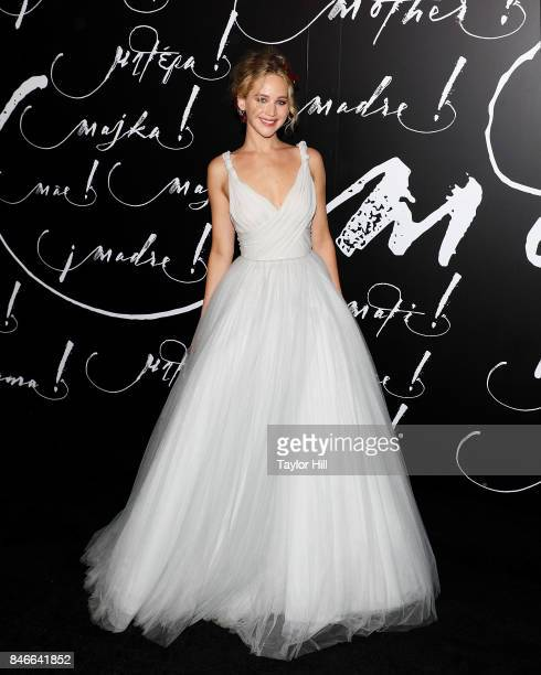 Actress Jennifer Lawrence attends the premiere of 'mother' at Radio City Music Hall on September 13 2017 in New York City