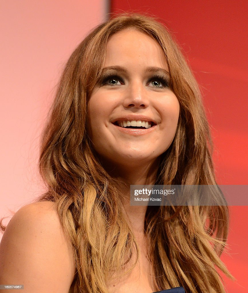 Actress <a gi-track='captionPersonalityLinkClicked' href=/galleries/search?phrase=Jennifer+Lawrence&family=editorial&specificpeople=1596040 ng-click='$event.stopPropagation()'>Jennifer Lawrence</a> attends The Santa Barbara International Film Festival on February 2, 2013 in Santa Barbara, California.
