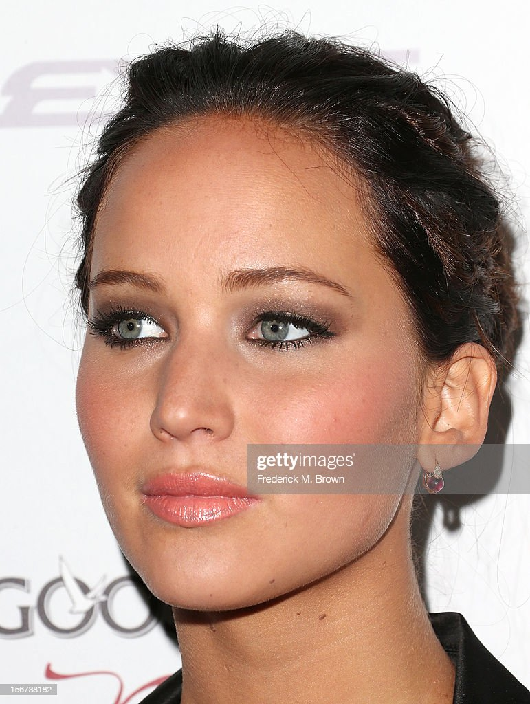 Actress Jennifer Lawrence attends the Screening Of The Weinstein Company's 'Silver Linings Playbook' at The Academy of Motion Pictures Arts and Sciences on November 19, 2012 in Beverly Hills, California.