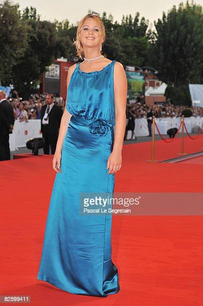 Actress Jennifer Lawrence attends the 'The Burning Plain' premiere at the Sala Grande during the 65th Venice Film Festival on August 29 2008 in...