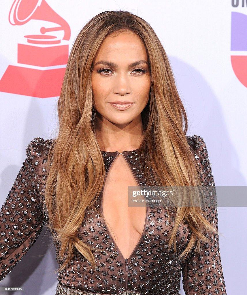 Actress Jennifer Lopez arrives at the 11th annual Latin GRAMMY Awards at the Mandalay Bay Resort & Casino on November 11, 2010 in Las Vegas, Nevada.