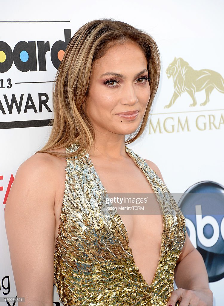 Actress Jennifer Lopez arrives at the 2013 Billboard Music Awards at the MGM Grand Garden Arena on May 19, 2013 in Las Vegas, Nevada.