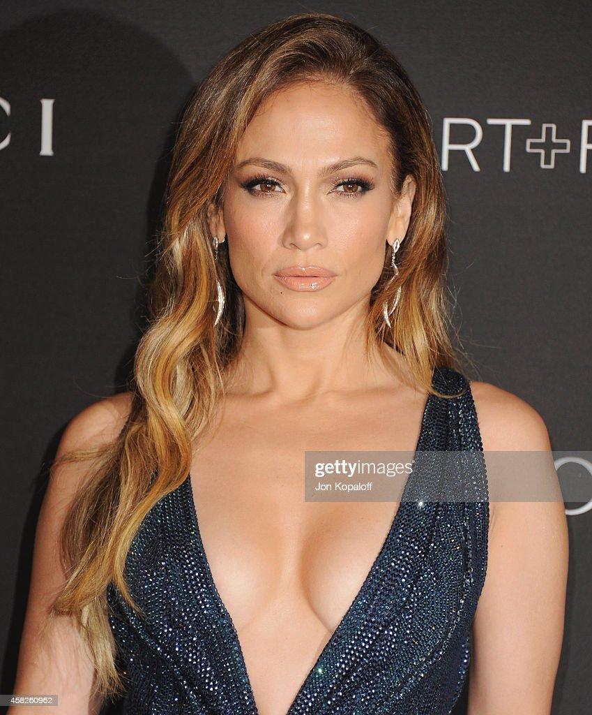 Actress Jennifer Lopez arrives at the 2014 LACMA Art + Film Gala Honoring Quentin Tarantino And Barbara Kruger at LACMA on November 1, 2014 in Los Angeles, California.