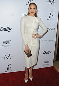 Actress Jennifer Lopez arrives at The Daily Front Row 'Fashion Los Angeles Awards' 2016 at Sunset Tower Hotel on March 20 2016 in West Hollywood...
