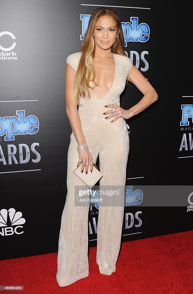 Actress Jennifer Lopez arrives at The PEOPLE Magazine Awards at The Beverly Hilton Hotel on December 18 2014 in Beverly Hills California