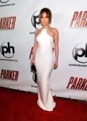 Actress Jennifer Lopez arrives at the premiere of FilmDistrict's 'Parker' at Planet Hollywood Resort Casino on January 24 2013 in Las Vegas Nevada