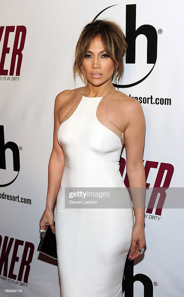 Actress <a gi-track='captionPersonalityLinkClicked' href=/galleries/search?phrase=Jennifer+Lopez&family=editorial&specificpeople=201784 ng-click='$event.stopPropagation()'>Jennifer Lopez</a> arrives for the premiere of FlimDistrict's 'Parker' at the Planet Hollywood Resort & Casino on January 24, 2013 in Las Vegas, Nevada.