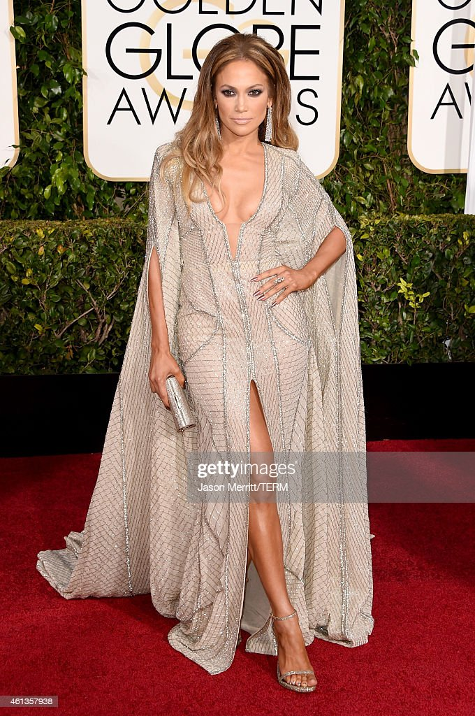 Actress Jennifer Lopez attends the 72nd Annual Golden Globe Awards at The Beverly Hilton Hotel on January 11 2015 in Beverly Hills California