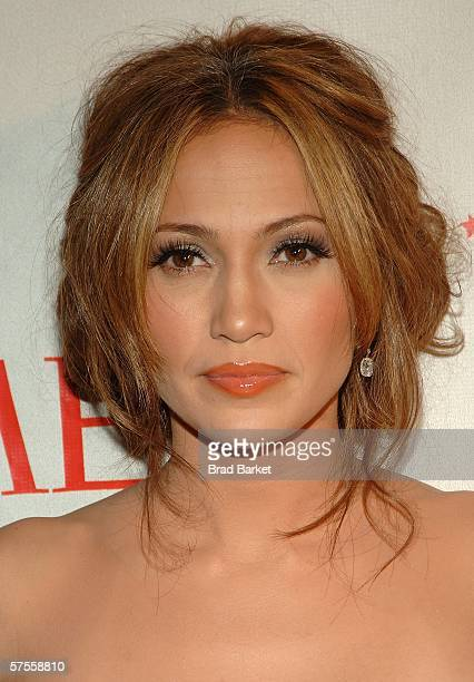 Actress Jennifer Lopez attends the celebration for Time Magazine's 100 Most Infuential People issue at Jazz at Lincoln Center May 8 2006 in New York...