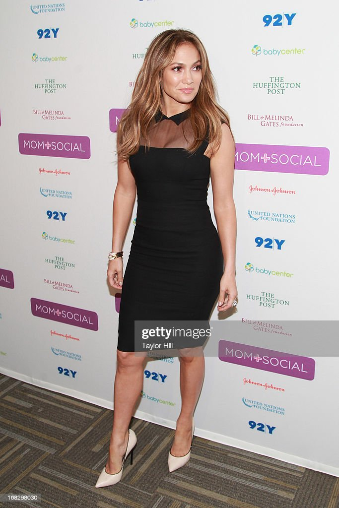 Actress Jennifer Lopez attends the Mom + Social Event at the 92Y Tribeca on May 8, 2013 in New York City.