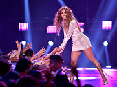 Actress Jennifer Lopez onstage during Nickelodeon's 28th Annual Kids' Choice Awards held at The Forum on March 28 2015 in Inglewood California
