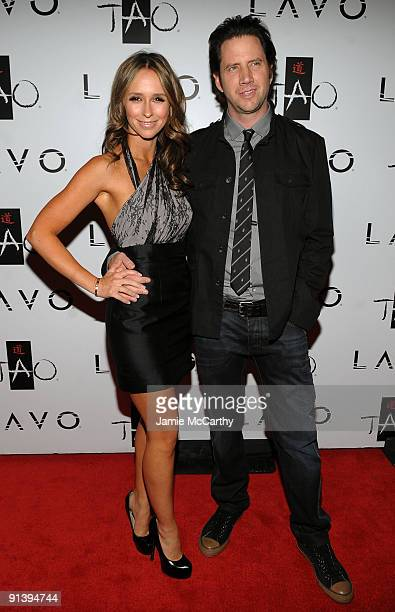 Actress Jennifer Love Hewitt and actor Jamie Kennedy attend the TAO and LAVO anniversary weekend held at TAO in the Venetian Resort Hotel Casino on...