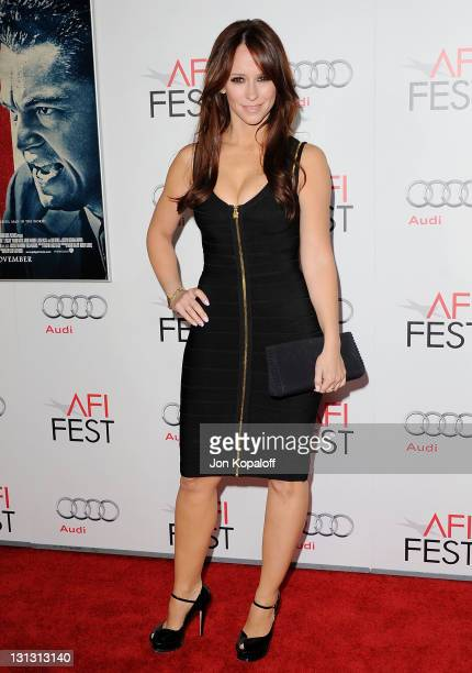 Actress Jennifer Love Hewitt arrives at the 2011 AFI FEST Opening Night Gala 'J Edgar' Premiere at Grauman's Chinese Theatre on November 3 2011 in...