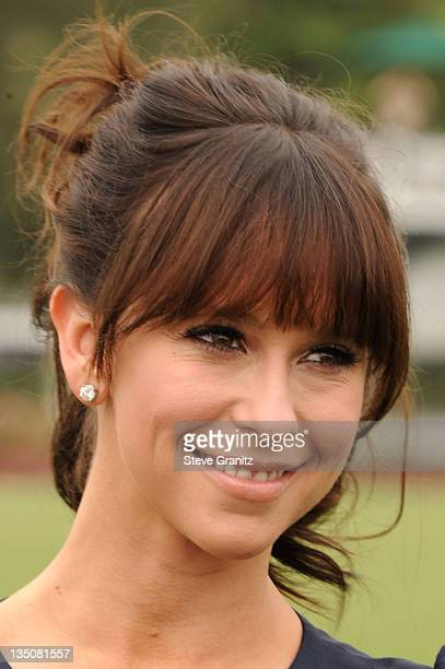 Actress Jennifer Love Hewitt arrives at the Foundation Polo Challenge held at the Santa Barbara Polo and Racquet Club on July 9 2011 in Santa Barbara...