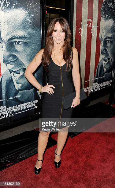 Actress Jennifer Love Hewitt arrives at the 'J Edgar' opening night gala during AFI FEST 2011 presented by Audi held at Grauman's Chinese Theatre on...