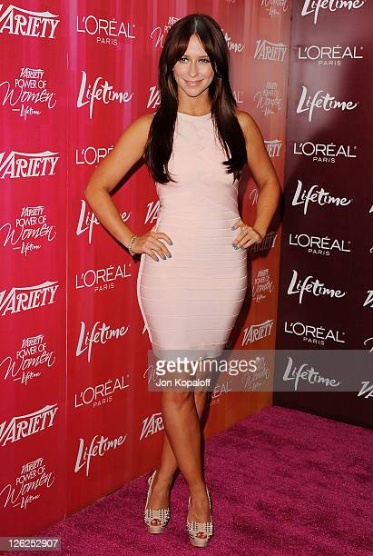 Actress Jennifer Love Hewitt arrives at Variety's 3rd Annual Power Of Women Luncheon at the Beverly Wilshire Four Seasons Hotel on September 23 2011...