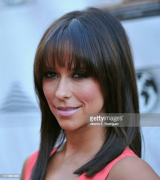 Actress Jennifer Love Hewitt arrives to the premiere of Maya Entertainment's 'Cafe' on August 18 2011 in Los Angeles California