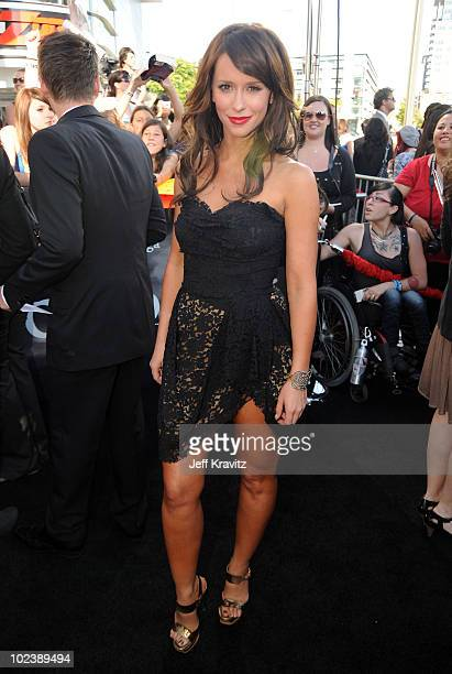 Actress Jennifer Love Hewitt arrives to the premiere of Summit Entertainment's 'The Twilight Saga Eclipse' during the 2010 Los Angeles Film Festival...