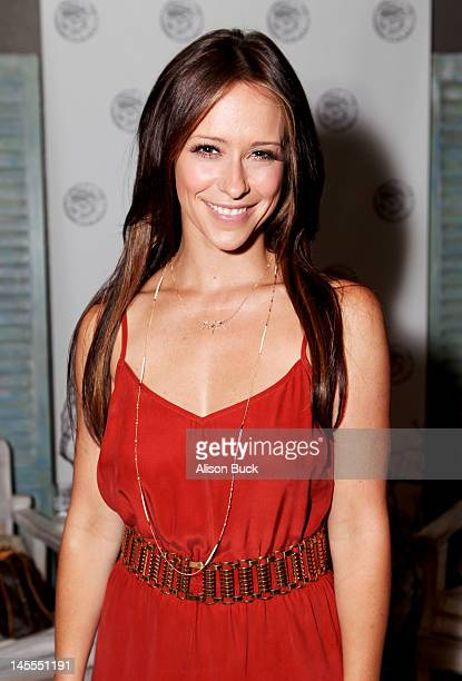 Actress Jennifer Love Hewitt attends Kari Feinstein's MTV Movie Awards Style Lounge at the W Hollywood on June 1 2012 in Hollywood California
